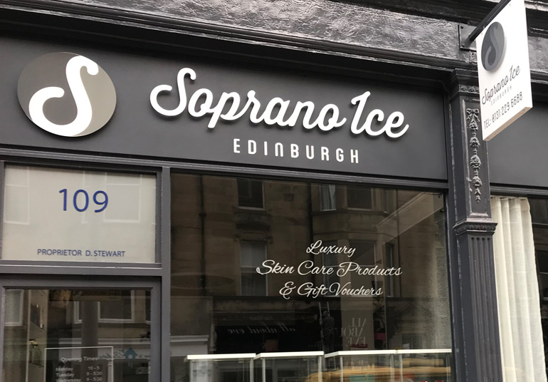 Soprano Ice Edinburgh