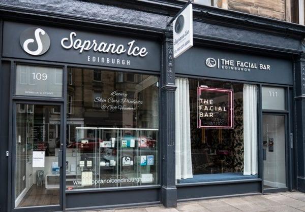 The New Facial Bar, Edinburgh