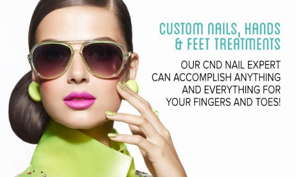 CND Nails Hand Feet